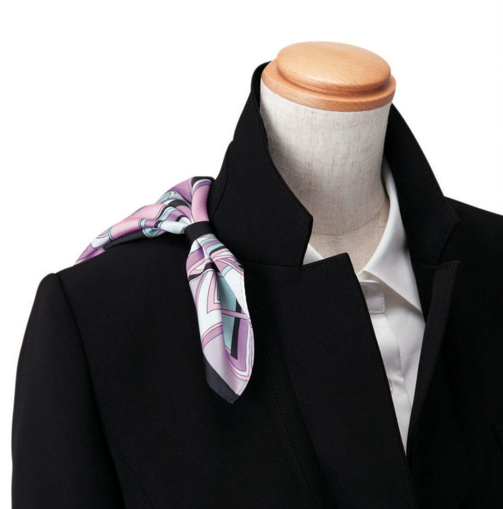 スカーフループ ジャケット