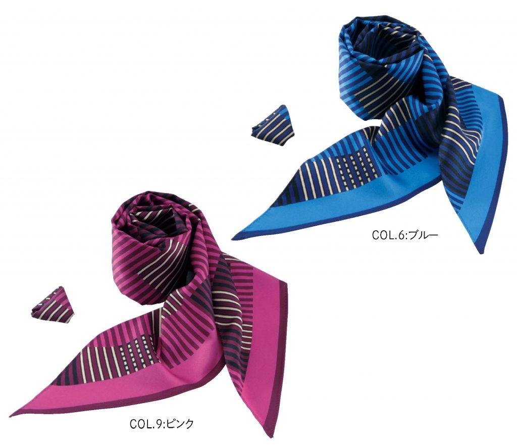 EAZ563 スカーフループ コサージュ