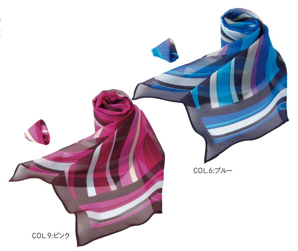 EAZ601 スカーフループ コサージュ