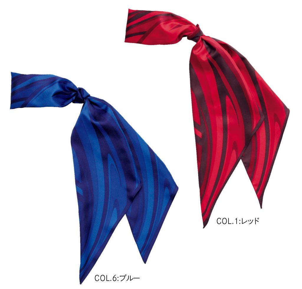 EAZ604 スカーフループ コサージュ